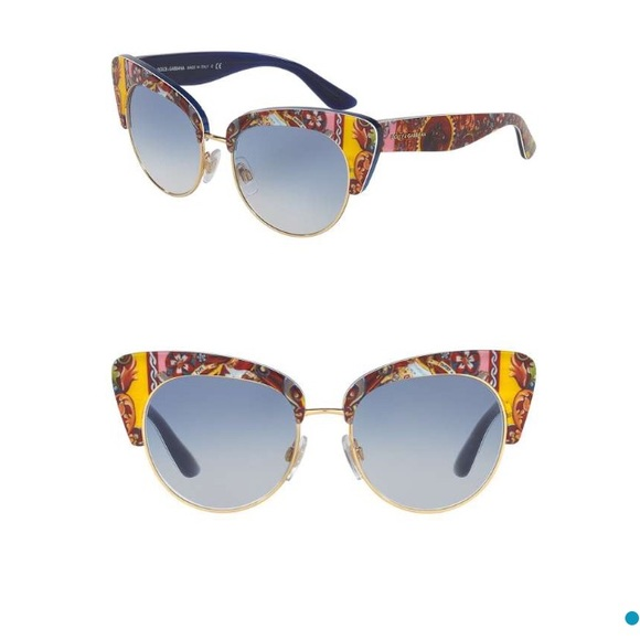 5c238100bbf Dolce   Gabbana Cat Eye Sunglasses DG4277
